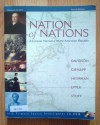 NATION OF NATIONS,CONCISE V.I- - DAVIDSON, Gienapp, Heyrman, Lytle, Stoff