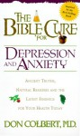 Bible Cure For Depression/Anxiety (New Bible Cure (Siloam)) - Don Colbert