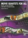 Movie Quartets for All: Violin (Movie Instrumental Ensembles for All) - Michael Story