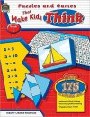 Puzzles And Games That Make Kids Think Grd 1 - Garth Sundem