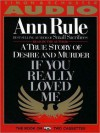 If You Really Loved Me (Audio) - Ann Rule