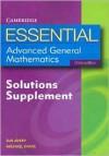 Essential Advanced General Mathematics Solutions Supplement 3ed (Essential Mathematics) - Michael Evans, Sue Avery