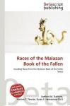 Races of the Malazan Book of the Fallen - Lambert M. Surhone, Susan F. Marseken