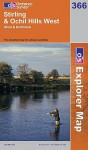 MAP: Stirling And Ochil Hills West (Os Explorer Map) - NOT A BOOK
