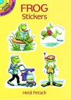 STICKERS: Frog Stickers - NOT A BOOK