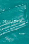 Criticism of theology: On Marxism and Theology III (Historical Materialism Book Series, #27) - Roland Boer