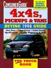 Consumer Guide 4x4s, Pickups & Vans: Buying 1998 Guide - Consumer Guide