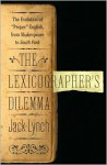 The Lexicographer's Dilemma - Jack Lynch