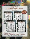 Clip Art on Disk [With CDROM] - Kenneth L. Barker