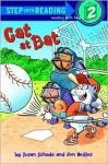 Cat at Bat (Step-Into-Reading, Step 2) - Jon Buller, Susan Schade