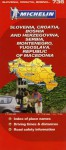 Slovenia/Croatia/Bosnia-Herzegovina Map - Michelin Travel Publications