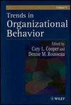 Trends In Organizational Behavior, Volume 5 - Cary L. Cooper, Denise M. Rousseau
