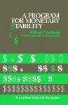 A Program for Monetary Stability - Milton Friedman