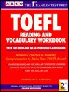 TOEFL Reading and Vocabulary Workbook - Elizabeth Davy, Karen Davy