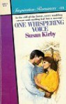 One Whispering Voice (Silhouette Inspirations, #24) - Susan E. Kirby