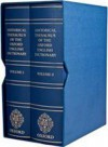 Historical Thesaurus of the Oxford English Dictionary - 2 volume set - Christian Kay, Jane Roberts, Michael Samuels, Irené Wotherspoon
