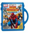 Marvel Heroes Action Adventures Book & Magnetic Playset - Kc Kelly, Magic Eye Studios