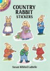 Country Rabbit Stickers - Susan Whited LaBelle
