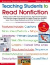 Teaching Students to Read Nonfiction: Grades 4 and Up: 22 Easy Lessons With Color Transparencies, High-Interest Passages, and Practice Pages-Everything You Need to Help Your Students Learn How to Read Textbooks and Other Nonfiction Texts - Alice Boynton, Wiley Blevins