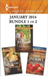 Harlequin Superromance January 2014 - Bundle 1 of 2: Everywhere She Goes\A Promise for the Baby\That Summer at the Shore - Janice Kay Johnson, Jennifer Lohmann, Callie Endicott