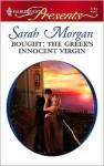 Bought: The Greek's Innocent Virgin - Sarah Morgan