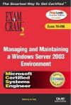 Managing and Maintaining a Windows Server 2003 Environment [With CDROM] - Dan Balter, Ed Tittel