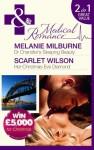 Dr. Chandler's Sleeping Beauty/Her Christmas Eve Diamond - Melanie Milburne, Scarlet Wilson