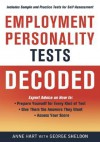 Employment Personality Tests Decoded - Anne Hart, George Sheldon