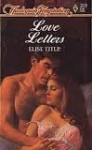 Love Letters - Elise Title