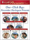 One-Click Buy: November Harlequin Presents - Emma Darcy, Robyn Donald, Susan Napier, Ally Blake, Sharon Kendrick, Anne Mather, Sandra Marton, Kate Walker