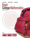 Basic College Mathematics [With CDROM] - John Tobey, Jeffrey Slater, Jamie Blair