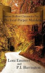 The Leaf Peeper Murders (Button Hollow Chronicles, #1) - Loni Emmert, P.I. Barrington