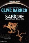 Sangre - Clive Barker