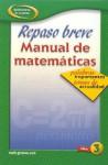 Repaso Breve Manual de Matematicas Libro 3 - Glencoe/McGraw-Hill