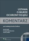 Ustawa o Biurze Ochrony Rządu Komentarz - Kamil Zeidler
