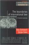 The Boundaries of International Law - Hilary Charlesworth, Christine Chinkin