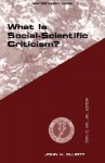 WHAT IS SOCIAL SCIENTIFIC CRITICISM? (Guides to Biblical Scholarship New Testament Series) - J.H. Elliott