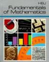 HBJ Fundamentals of Mathematics - Harcourt Brace Jovanovich