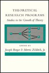 Theoretical Research Programs: Studies in the Growth of Theory - Joseph Berger, Morris Zelditch Jr.