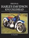 Original Harley-Davidson Knucklehead - Greg Field