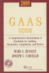 GAAS Guide: A Comprehensive Restatement of Standards for Auditing, Attestation, Compilation, and Review [With CDROM] - Mark S. Beasley, Joseph V. Carcello
