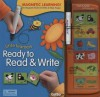 Little Learners Ready to Read & Write [With Large Wipe-Off MarkerWith Magnetic Pieces] - GoBo