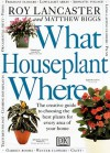 What Houseplant Where - Roy Lancaster, Matthew Biggs