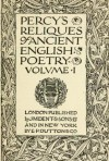 Percy's Reliques of Ancient English Poetry (Volume 1) - Thomas Percy