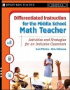 Math Activities for the Inclusive Middle School Classroom - Joan D'Amico, Karen Eich Drummond