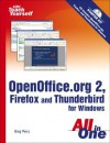 Sams Teach Yourself OpenOffice.org 2, Firefox and Thunderbird for Windows All in One - Greg M. Perry