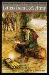 Letters from Lee's Army - Charles Minor Blackford, Susan Leigh Blackford, Gordon C. Rhea