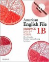 American English File Level 1 Student and Workbook Multipack B - Oxenden, Paul Seligson, Christina Latham-Koenig