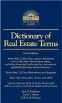 Dictionary of Real Estate Terms (Barron's Business Dictionaries) - Jack P. Friedman, Jack C. Harris, J. Bruce Lindeman