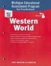 Michigan Holt Social Studies Western World: Michigan Educational Assessment Program Test Prep Workbook - Holt Rinehart